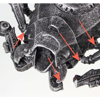 dekorace Scorpion - CYBER - POŠKOZENÁ