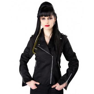 bunda dámská BLACK PISTOL - Biker - Black - B-6-06-001-00