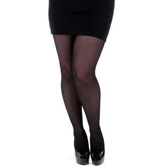 punčocháče PAMELA MANN - Criss Cross Opaque - Black, PAMELA MANN