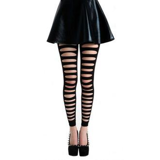 legíny (punčocháče) PAMELA MANN - Front Slash Footless - Black - PM262