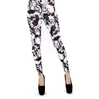 kalhoty dámské (legíny) PAMELA MANN - Riley - Black/White - PM201