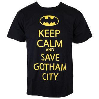 tričko pánské Batman - Save Our Gotham City - Black - INDIEGO, INDIEGO