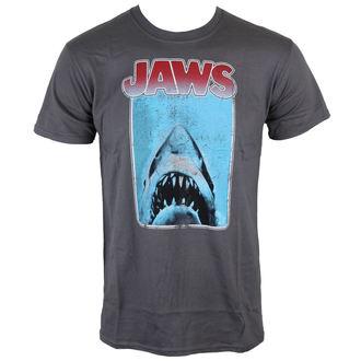 tričko pánské Jaws - Poster - Charcoal - INDIEGO - Indie0121