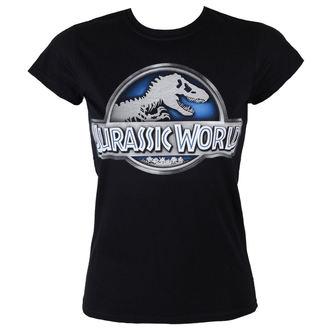 tričko dámské Jurassic World - Logo - Black - INDIEGO - Indie0278