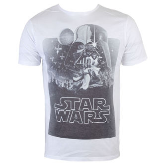 tričko pánské Star Wars - Darth Vader Sublimation - White - INDIEGO, INDIEGO, Star Wars