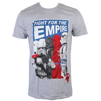 tričko pánské Star Wars - Fight For The Empire - Charcoal - INDIEGO, INDIEGO