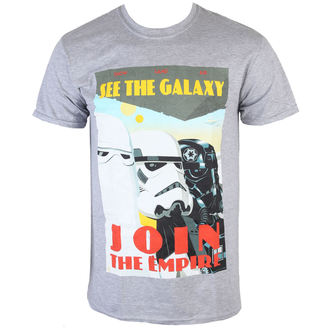 tričko pánské Star Wars - Join The Empire - Charcoal - INDIEGO - Indie0255