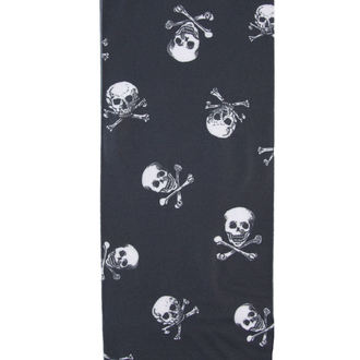 punčocháče PAMELA MANN - Skulls B Printed - Black/White