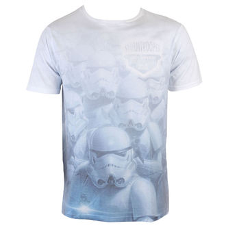 tričko pánské Star Wars - Stormtrooper Sublimation - White - INDIEGO