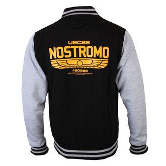 mikina pánská Alien (Vetřelec) - USCSS Nostromo - Black/Grey