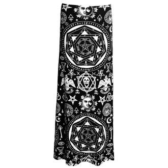 sukně dámská KILLSTAR - Occult Maxi - Black - KIL086