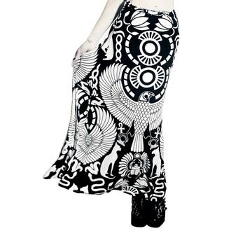 sukně dámská KILLSTAR - Vulture Maxi - Black, KILLSTAR