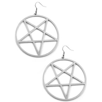 náušnice KILLSTAR - Pentagram - K-JEW-U-1248