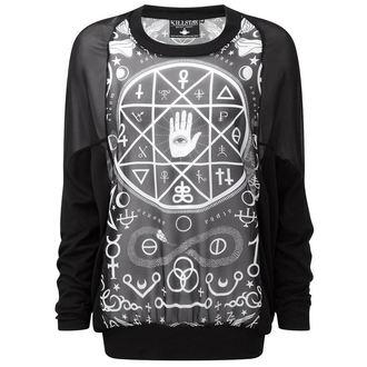 tričko dámské (tunika) KILLSTAR - Cult Cuff - Black - KIL031