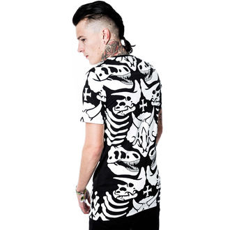 tričko (unisex) KILLSTAR - Dino - Black, KILLSTAR
