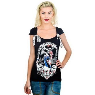 tričko dámské TOO FAST - Shock - Poison Snow - TOO006