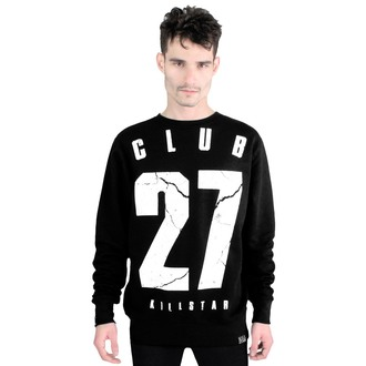 mikina (unisex) KILLSTAR - Club 27 - Black - KIL160