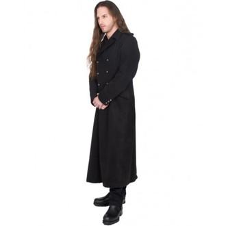 kabát pánský BLACK PISTOL - Army Coat Wool - BLACK, BLACK PISTOL