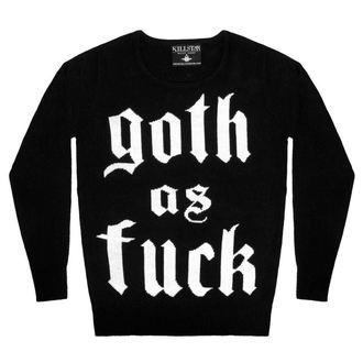 svetr (unisex) KILLSTAR -Goth - Black