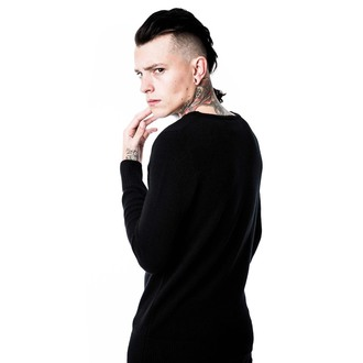 svetr (unisex) KILLSTAR - My Eye - Black, KILLSTAR