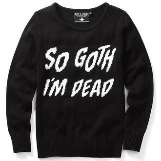svetr (unisex) KILLSTAR - So Goth - Black - KIL073