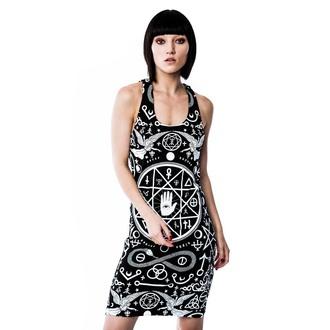 šaty dámské KILLSTAR - Cult - Black/White - KIL114