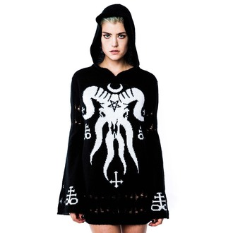 svetr dámský KILLSTAR - The Calling Knit - Black, KILLSTAR