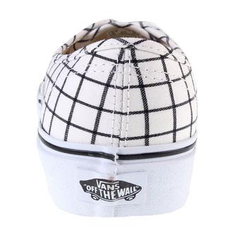 boty dámské VANS - U Authentic (Grid) - TRUE WHITE