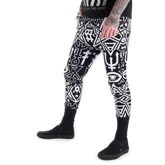 kalhoty unisex (tepláky) KILLSTAR - Thelema - Black