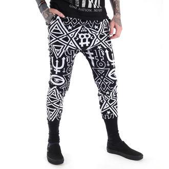 kalhoty unisex (tepláky) KILLSTAR - Thelema - Black, KILLSTAR