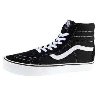 boty pánské VANS - U SK8-Hi Lite (Suede/Canvas) - BLACK/WHITE, VANS