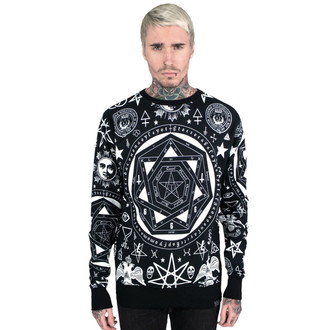 mikina (unisex) KILLSTAR - Occult - Black, KILLSTAR