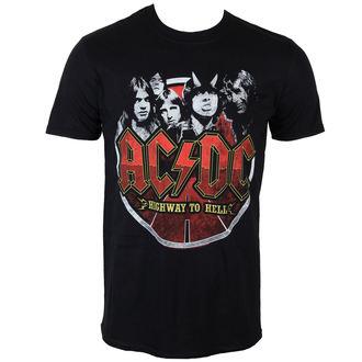 tričko pánské AC/DC - Band Circle - PLASTIC HEAD - PH9320