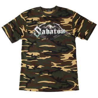 tričko pánské Sabaton - Inmate Camouflage - NUCLEAR BLAST - 2292 - POŠKOZENÉ, NUCLEAR BLAST, Sabaton