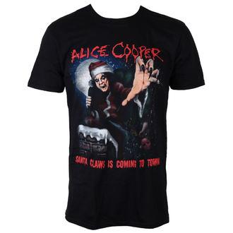 tričko pánské Alice Cooper - Santa Claws - ROCK OFF, ROCK OFF, Alice Cooper