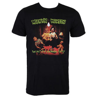 tričko pánské Marilyn Manson - American Family - ROCK OFF, ROCK OFF, Marilyn Manson