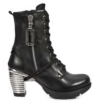 boty NEW ROCK - TACON ACERO NEGRO, NEW ROCK