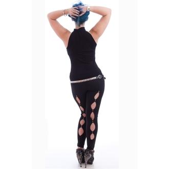 tílko dámské NECESSARY EVIL - Shala Keyhole - Black