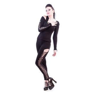 kalhoty dámské (legíny) NECESSARY EVIL - Terra Slashed - Black