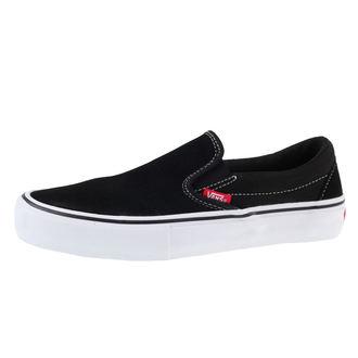 boty pánské VANS - SLIP-ON PRO - Black/White/Gum - VN00097M9X11