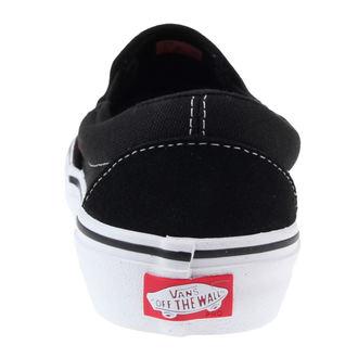 boty pánské VANS - SLIP-ON PRO - Black/White/Gum