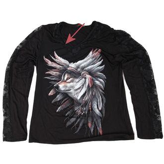 tričko dámské s dlouhým rukávem SPIRAL - Spirit Of The Wolf - POŠKOZENÉ