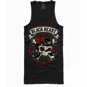 tílko dámské BLACK HEART - LADY LUCK - BLACK, BLACK HEART