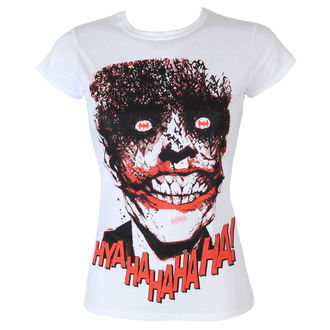 tričko dámské Batman - The Joker-HyaHaHaHa - White - HYBRIS - WB-5-BAT019-H45-2