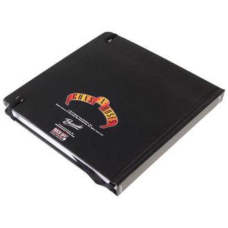 poznámkový blok Guns N' Roses - Classic Logo - ROCK OFF, ROCK OFF, Guns N' Roses