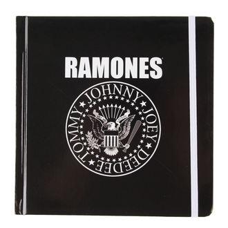 poznámkový blok Ramones - Presidential Seal - ROCK OFF, ROCK OFF, Ramones