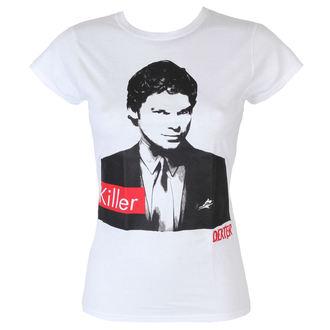tričko dámské Dexter - Killer - White - HYBRIS - CBS-5-DXT004-H50-14