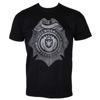 tričko pánské Gotham - Detective Shield - Black - HYBRIS, HYBRIS