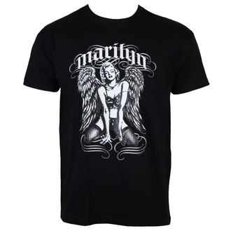 tričko pánské Marilyn Monroe - Cool Angel - Black - HYBRIS, HYBRIS