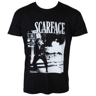 tričko pánské Scarface - Wanna Play Rough - Black - HYBRIS - UV-1-SF004-H39-10-BK